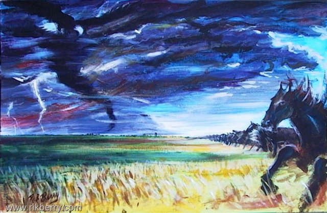 Advancing Thunder